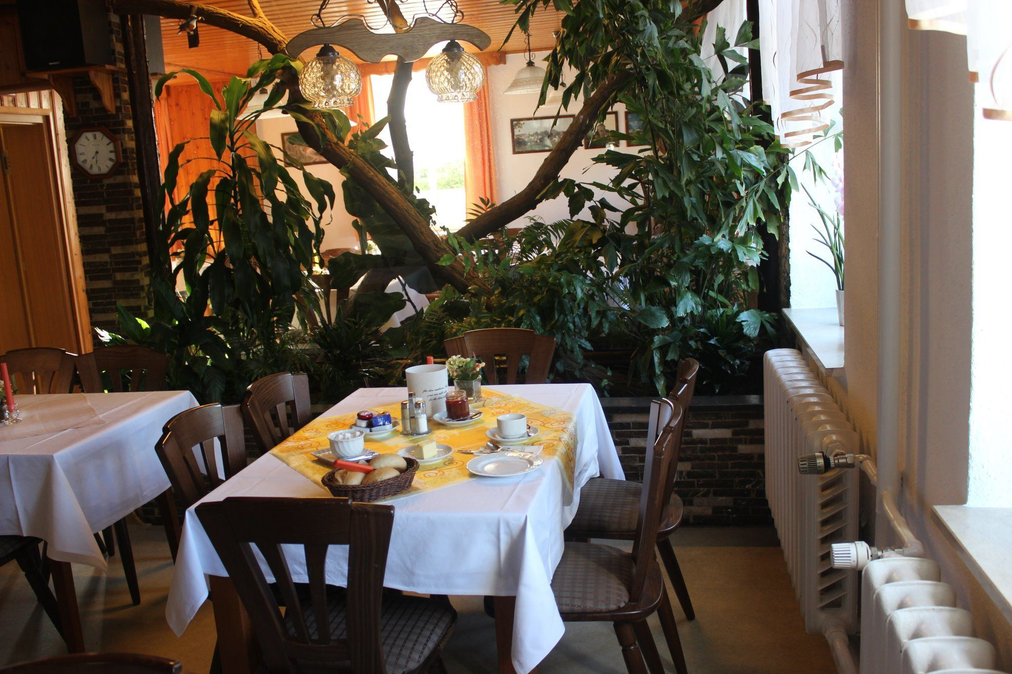 Frühstückstisch Hotel Collis