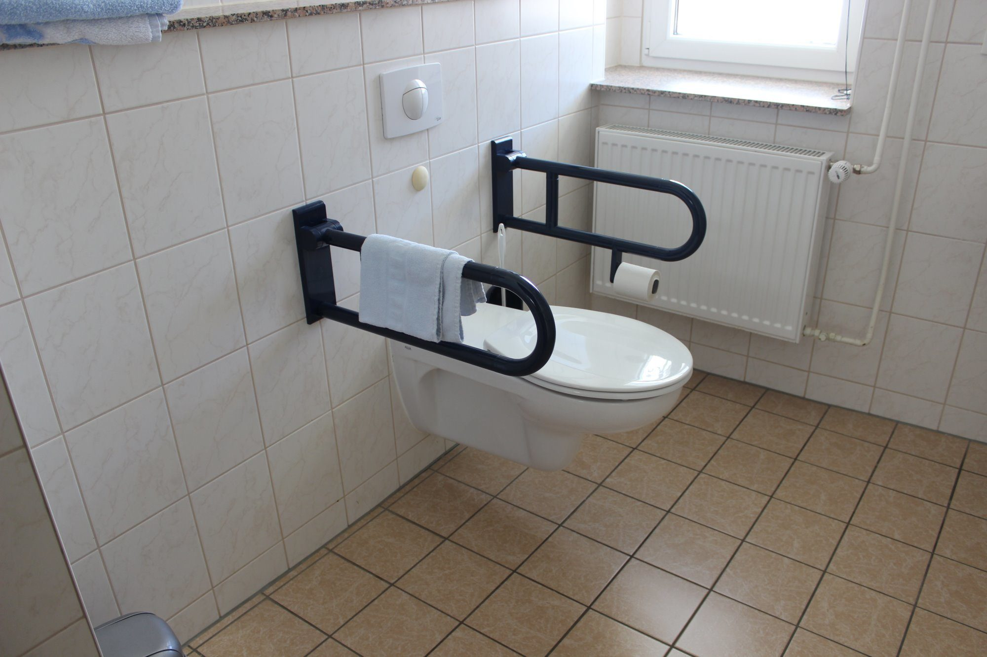 Toilette behindertengerecht